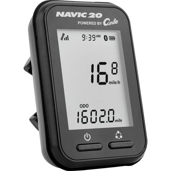 Ciclosport CicloNavic 20 GPS Fahrradcomputer schwarz