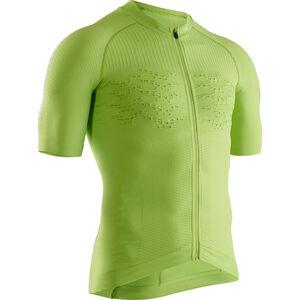 X-Bionic Effektor G2 Fahrrad Zip Trikot SS Herren effektor green/arctic white effektor green/arctic white