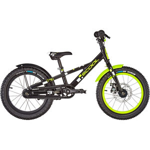 s'cool faXe 16 alloy black/lemon matt bei fahrrad.de Online