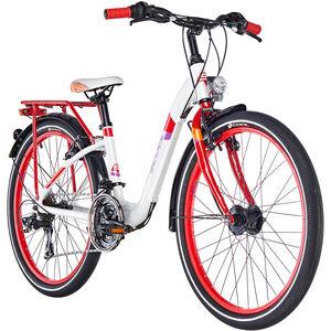 s'cool chiX 24 21-S alloy White/Red bei fahrrad.de Online