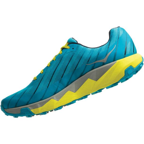Hoka One One Torrent Running Shoes Herren cyan blue/citrus