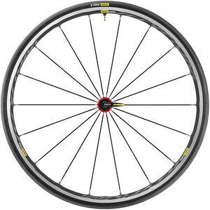 Mavic Ksyrium Elite UST Vorderrad schwarz/rot schwarz/rot