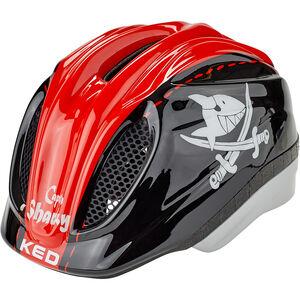 KED Meggy Originals Helmet Kinder sharky red sharky red