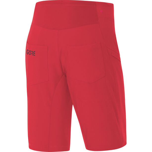 GORE WEAR C3 Trail Shorts Damen hibiscus pink