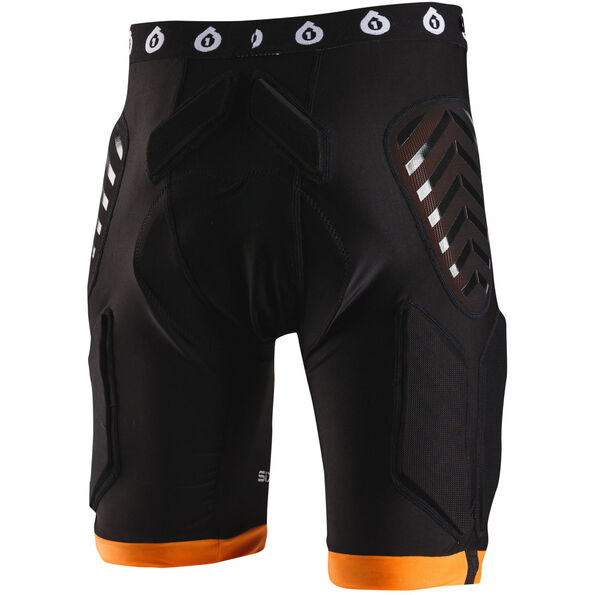 SixSixOne EVO Compression Shorts mit Sitzposter black