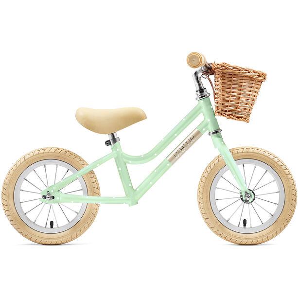 """Creme Mia Push-Bike 12"""" Kinder pistachio polka"""