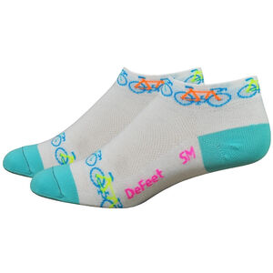 "DeFeet Aireator 1"" Socks Women Bikes Rule"