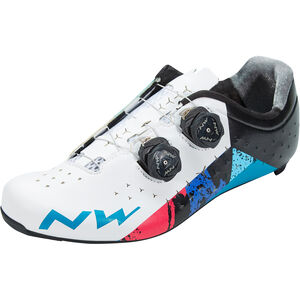 Northwave Revolution 2 Schuhe Herren white/black/blue white/black/blue