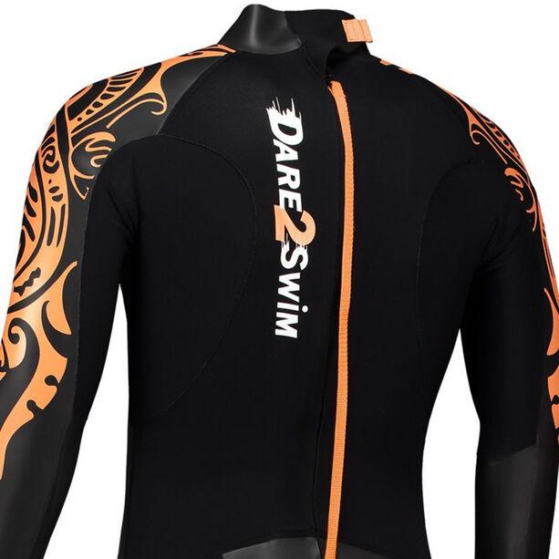 Dare2Tri To Swim Wetsuit Herren black/orange