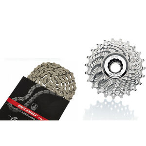 CAMPAGNOLO Veloce Kassette 13-26 & Record Kette 9-fach Bundle bei fahrrad.de Online