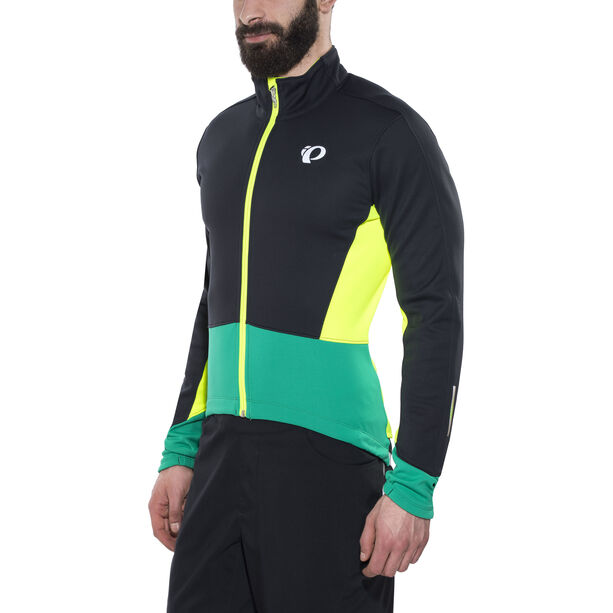 PEARL iZUMi Elite Pursuit Softshell Jacket Herren black/pepper green