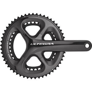 Shimano Ultegra FC-6800 Kurbelgarnitur 2-fach 53/39 Zähne grau bei fahrrad.de Online