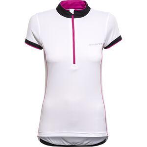 axant Elite Short Sleeve Jersey Women white/pink bei fahrrad.de Online
