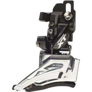 Shimano Deore XT FD-M8025 Umwerfer 2x11-fach Direktmontage Dual Pull schwarz/silber schwarz/silber