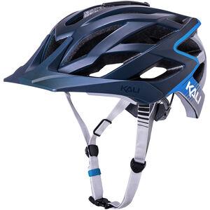 Kali Lunati Helm matt blau/grau matt blau/grau