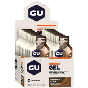 GU Energy Gel Box 24x32g Espresso Love