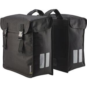 Basil Mara Double Pannier Bag XXL, 47l schwarz schwarz