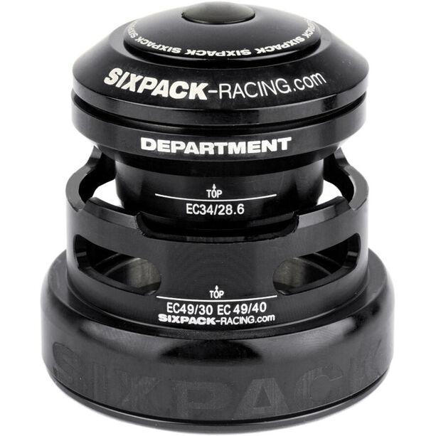 Sixpack Department 2In1 Steuersatz EC3449/28.6 I EC49/30 and EC34/28.6 I EC49/40 schwarz
