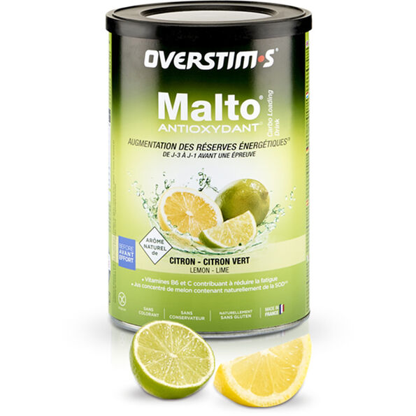 OVERSTIM.s Antioxidant Malto Drink 500g Lemon Lime