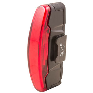 spanninga Arco Rechargeable Rear Light StVZO black black