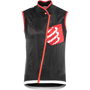 Compressport Cycling Hurricane Windprotect Vest black black