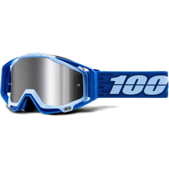 100% Racecraft Plus Injected Mirror Goggles