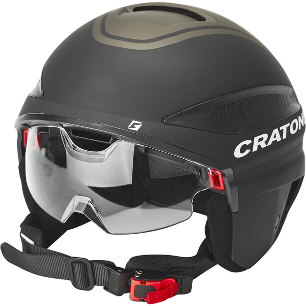 Cratoni Vigor S-Pedalec Helm schwarz matt