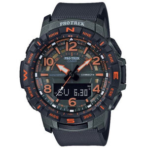 CASIO PRO TREK PRT-B50FE-3ER Watch Men black/orange black/orange