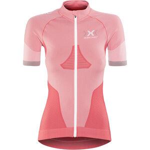 X-Bionic Race Evo Fahrrad OW Trikot SS Damen pink paradise/pearl grey pink paradise/pearl grey