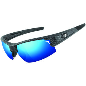 Tifosi Escalate HS Glasses Herren matte carbon - clarion blue/ac red/clear matte carbon - clarion blue/ac red/clear