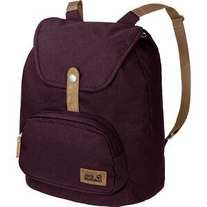 Jack Wolfskin Long Acre Backpack burgundy