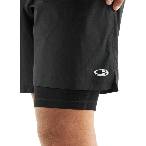 Icebreaker Impulse Training Shorts Herren black