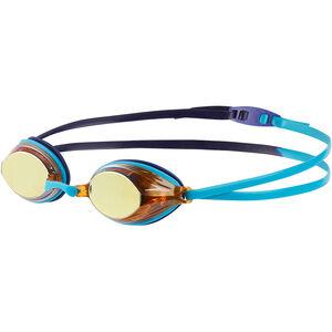 speedo Vengeance Mirror Goggles turquoise/ultramarine/copper turquoise/ultramarine/copper