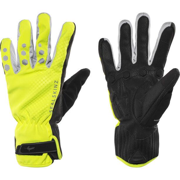 Sealskinz All Weather Cycle XP Handschuhe Herren schwarz/gelb