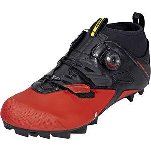Mavic Crossmax Elite CM Shoes black/fiery red/black black/fiery red/black