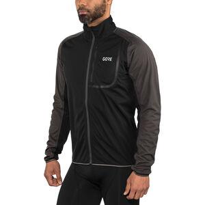 GORE WEAR C3 Gore Windstopper Jacket Men black/terra grey bei fahrrad.de Online