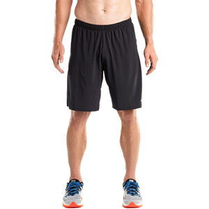 "saucony Interval 9"" 2-in-1 Shorts Herren black black"