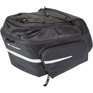 VAUDE Silkroad Plus Rack Bag Snap-It black black
