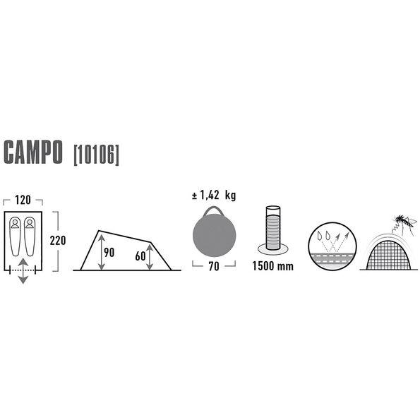 30d5af2582a High Peak Campo Tent online kaufen   fahrrad.de