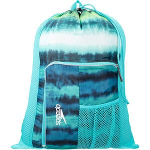 speedo Deluxe Ventilator Mesh Bag 35l cage turq cage turq