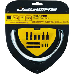 Jagwire Road Pro Bremszugset weiß weiß