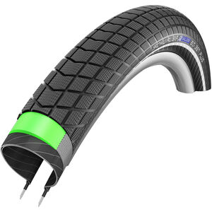 "SCHWALBE Big Ben Plus Drahtreifen 24"" GreenGuard SnakeSkin E-50 Performance Reflex Black"
