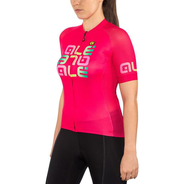 Alé Cycling Solid Mirror SS Jersey Damen gerbera
