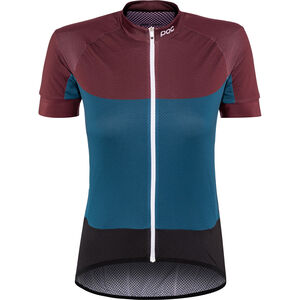 POC Essential Road SS Light Jersey Damen polypropylene red/draconis blue polypropylene red/draconis blue
