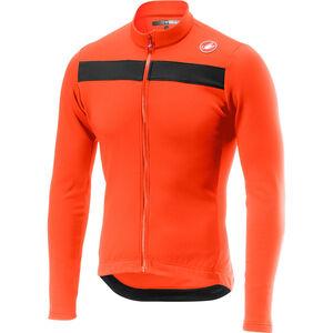Castelli Puro 3 Full-Zip Jersey Herren orange orange