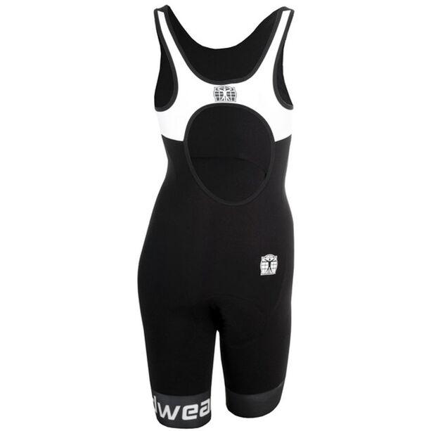 Bioracer Tri Elite Bathing Suit Damen black-white