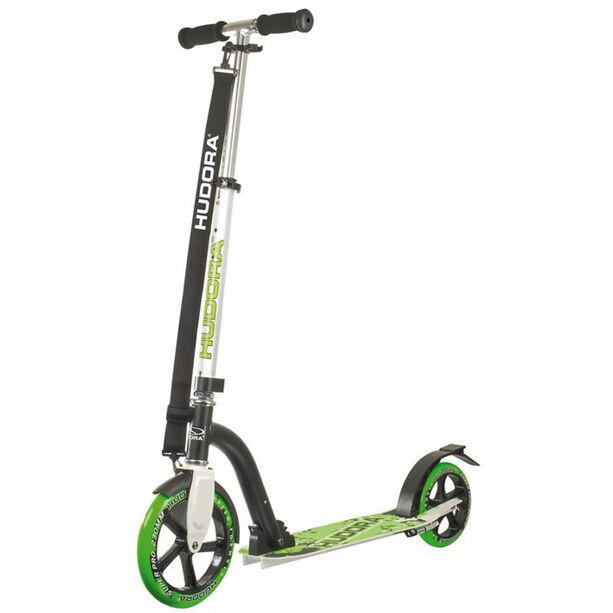HUDORA Big Wheel City Scooter Kinder grün/schwarz