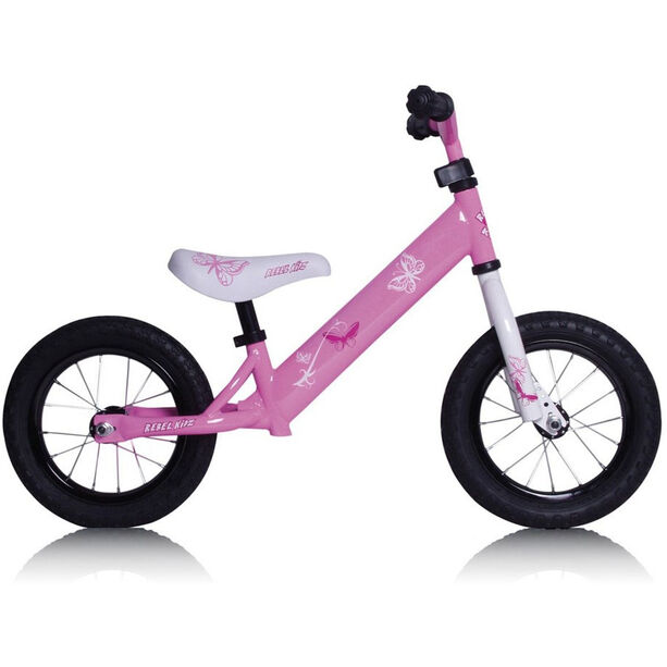 "Rebel Kidz Air Laufrad 12,5"" Kinder schmetterling/pink"