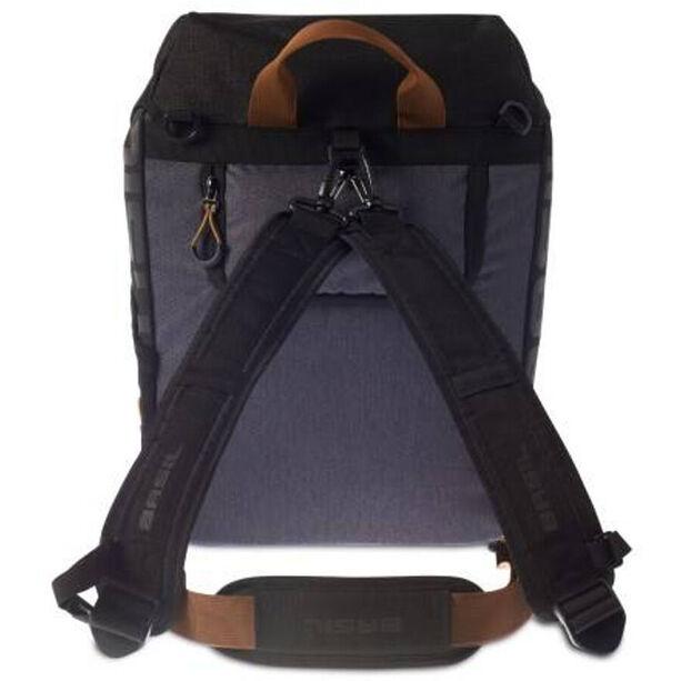 Basil Miles Daypack 14l black slate