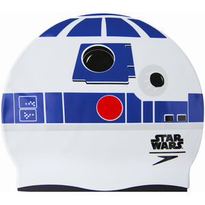 speedo R2D2 Slogan Cap Kinder white/northern/silver/risk red white/northern/silver/risk red